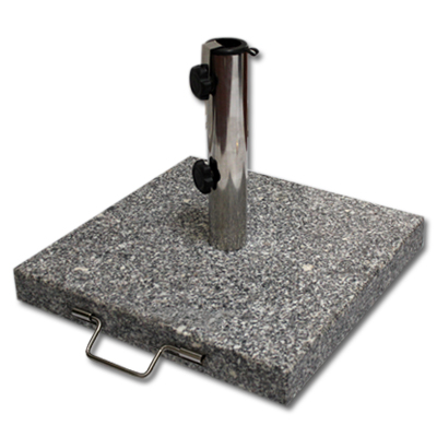 rund eckig schirmst nder sonnenschirmst nder st nder granitst nder granit 30kg ebay. Black Bedroom Furniture Sets. Home Design Ideas