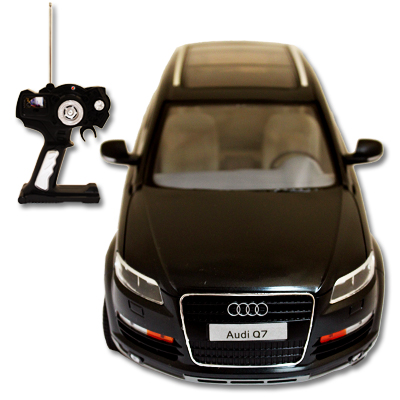 audi q7 ferngesteuertes rc fahrzeug 1 14 auto car modell. Black Bedroom Furniture Sets. Home Design Ideas