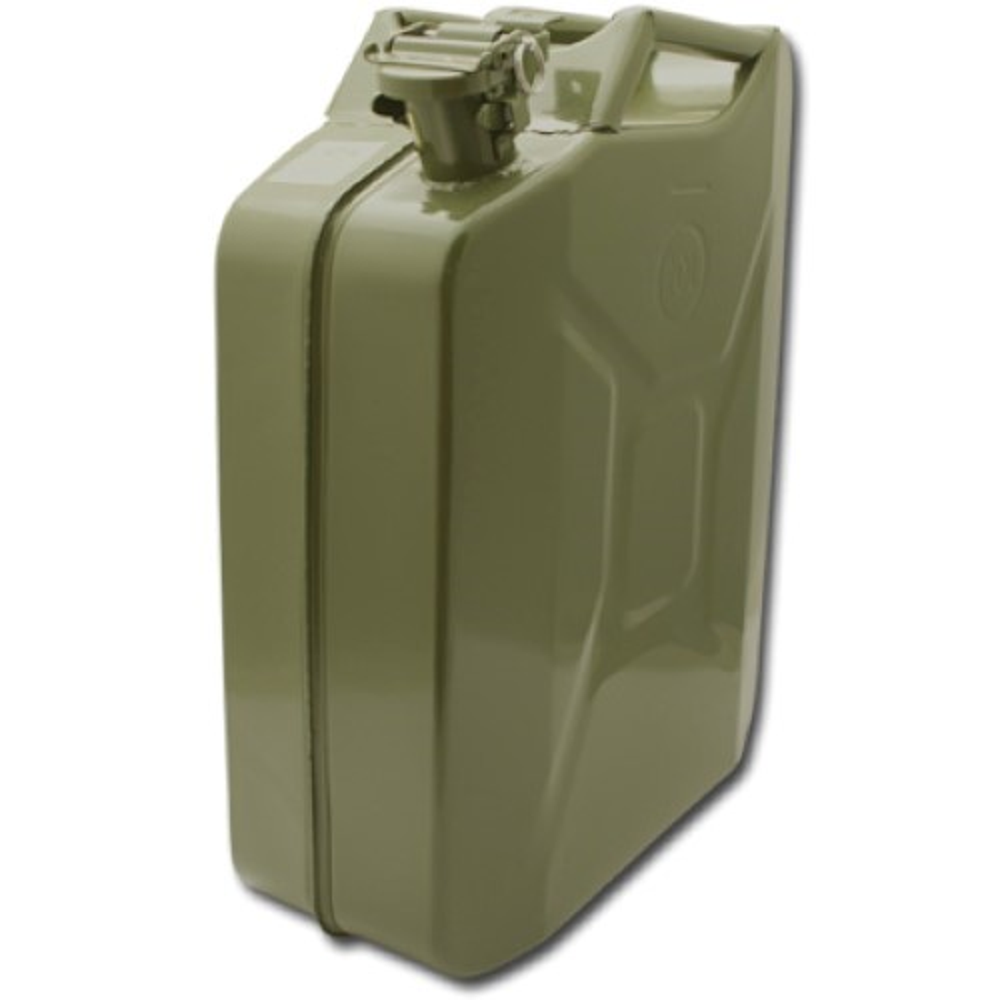 20 liter benzinkanister metall kraftstoffkanister reserve. Black Bedroom Furniture Sets. Home Design Ideas