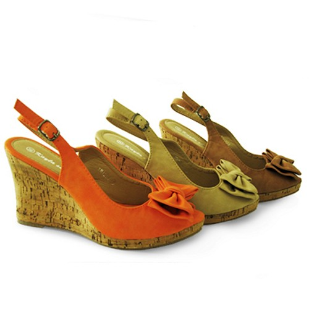 damen sandaletten sandalen mit absatz 9 5cm holzoptik. Black Bedroom Furniture Sets. Home Design Ideas