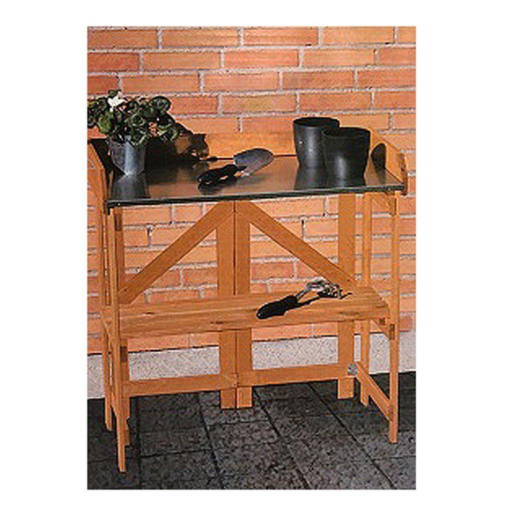pflanztisch klappbar holztisch g rtnertisch blumentisch umtopftisch gartentisch ebay. Black Bedroom Furniture Sets. Home Design Ideas