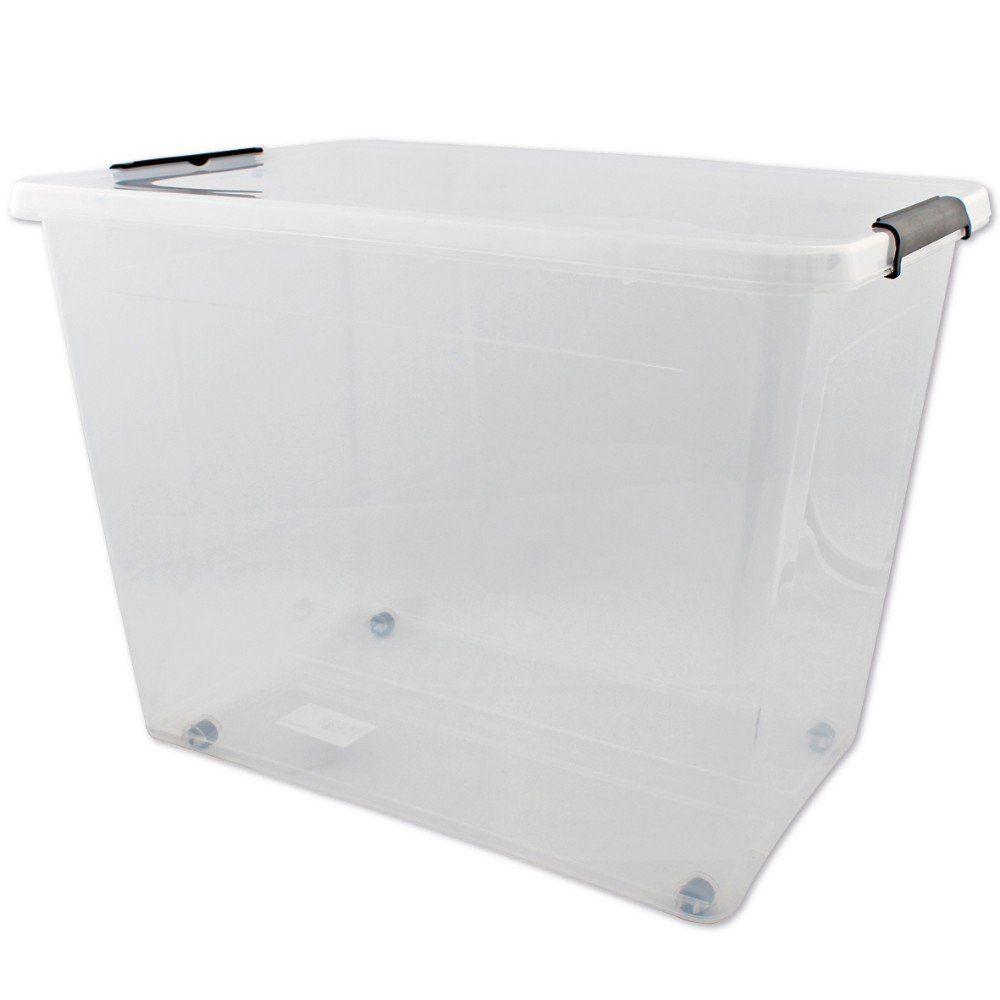 aufbewahrungsbox kiste unterbett allzweckbox deckel. Black Bedroom Furniture Sets. Home Design Ideas