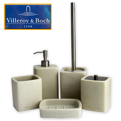 Badezimmerset villeroy boch design bad set 5 tlg neu ebay for Badezimmer set design
