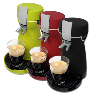 kaffeepadmaschine inventum hk2 kaffeemaschine padmaschine kaffee pad ebay. Black Bedroom Furniture Sets. Home Design Ideas