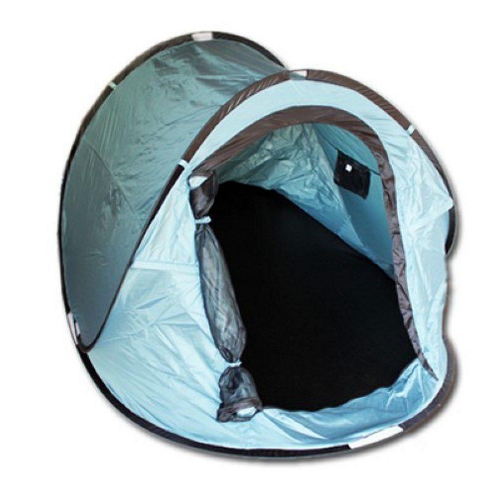 pop up zelt f r 2 personen wurfzelt zelt popup zelt sekundenzelt camping blau. Black Bedroom Furniture Sets. Home Design Ideas