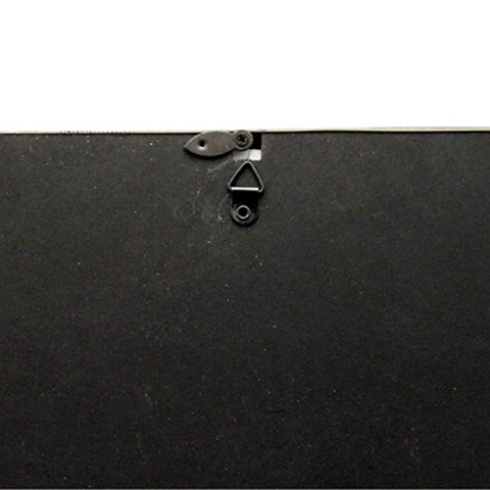 3d fotorahmen mit uhr wanduhr standuhr bilderrahmen 3 fotos schwarz wei neu ebay. Black Bedroom Furniture Sets. Home Design Ideas