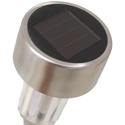 led solar leuchten edelstahl 36 cm solarleuchte solarlampe gartenleuchten garten ebay. Black Bedroom Furniture Sets. Home Design Ideas