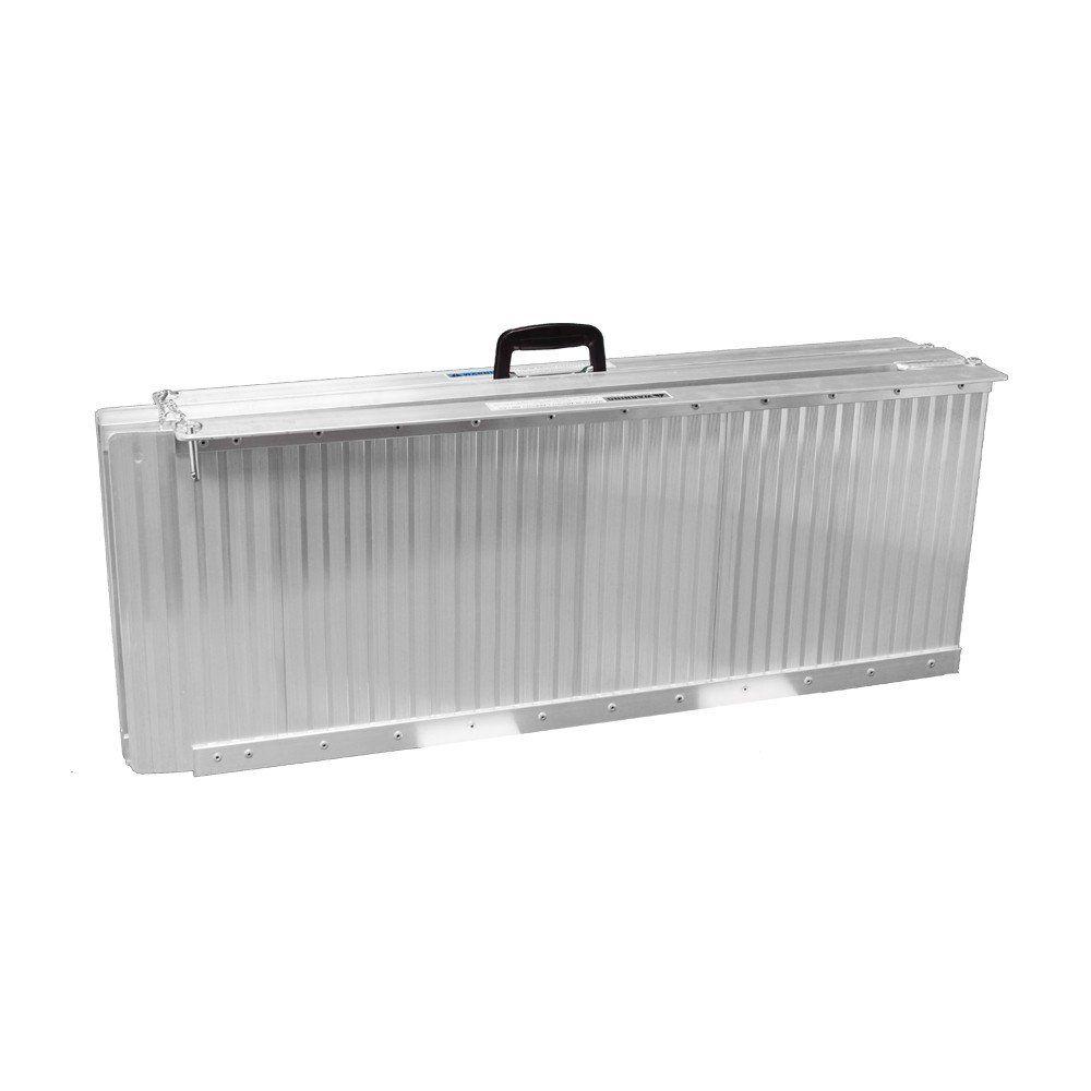 grafner rollstuhlrampe 183 cm 272 kg klappbar auffahrrampe aluminium 16305 ebay. Black Bedroom Furniture Sets. Home Design Ideas