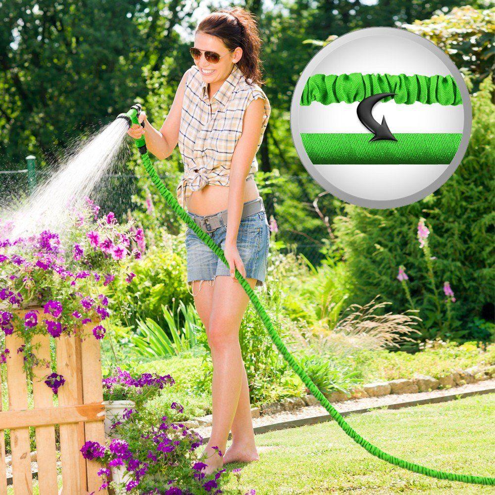 Grafner dehnbarer Gartenschlauch Flexibler Wasserschlauch 1/2 ...