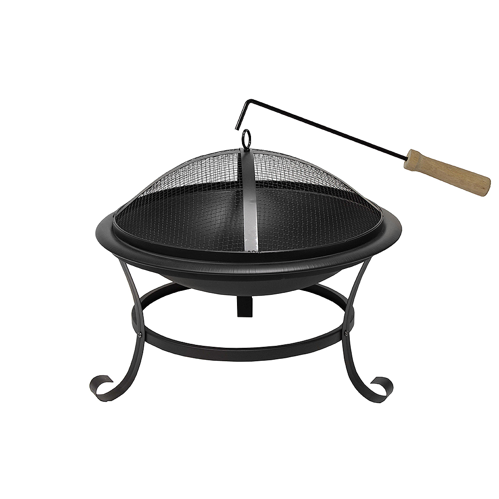 moderne xxl feuerschale feuerkorb 52 cm edelstahl funkenhaube feuerstelle ebay. Black Bedroom Furniture Sets. Home Design Ideas