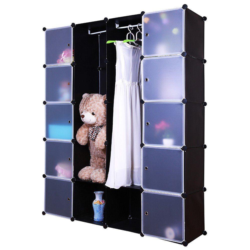 grafner kleiderschrank diy schrank regalsystem steckregal garderobe schuhregal ebay. Black Bedroom Furniture Sets. Home Design Ideas