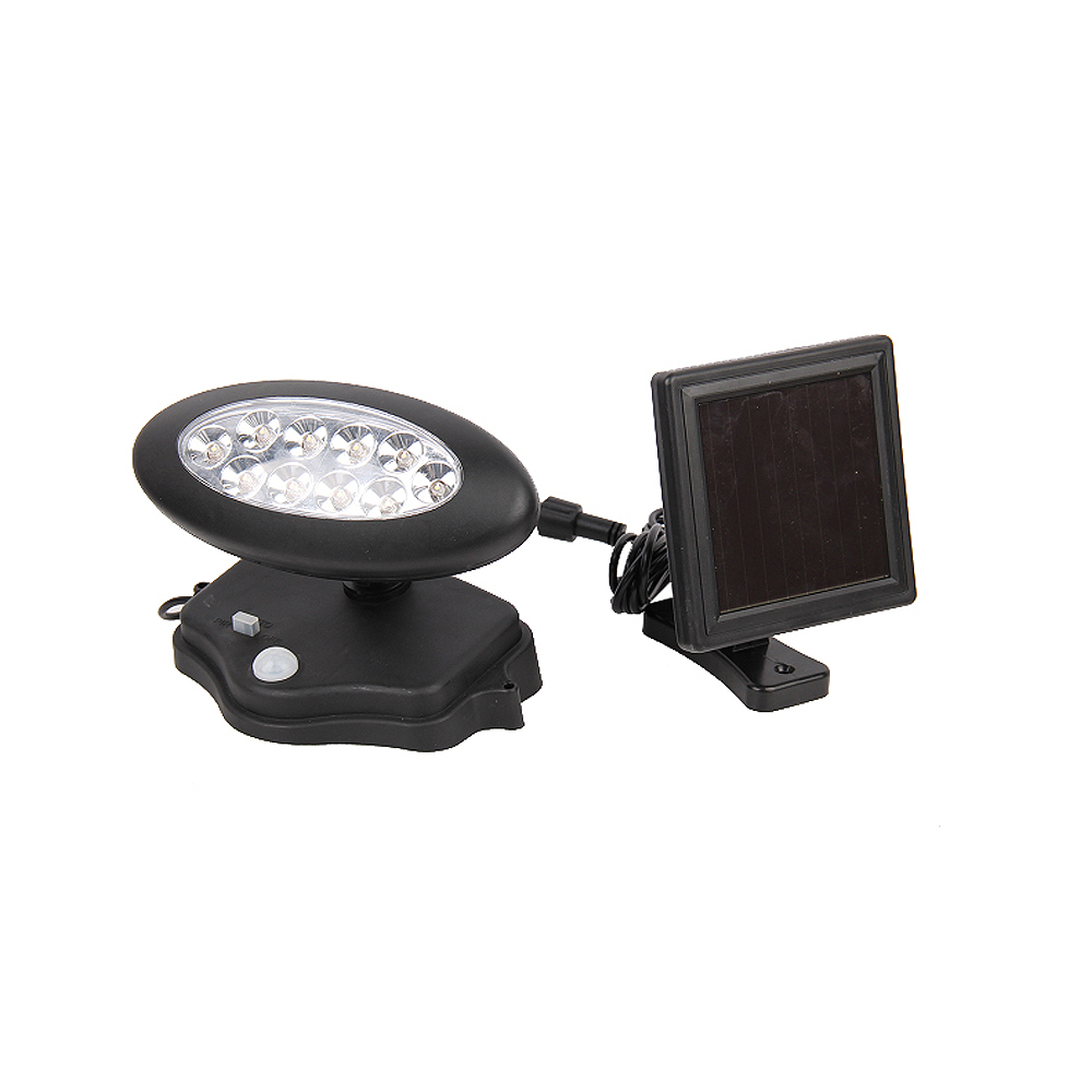 led solar strahler mit bewegungsmelder solarlampe leuchte 15leds neu 426 ebay. Black Bedroom Furniture Sets. Home Design Ideas