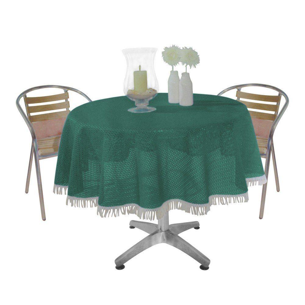 gartentischdecke tischdecke wetterfest garten decke fransen 110x140 130x160 69 ebay. Black Bedroom Furniture Sets. Home Design Ideas