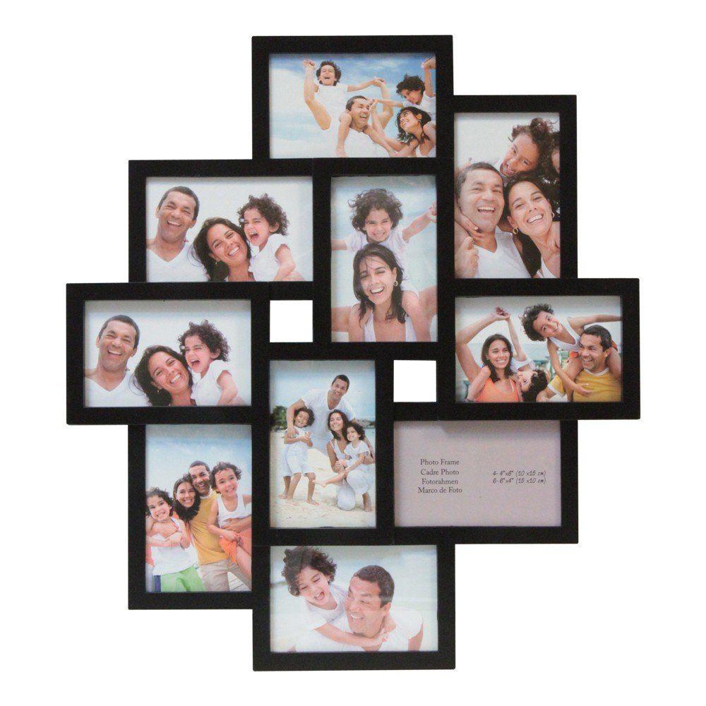 3D Bilderrahmen 10 Fotos Bilder Fotorahmen Fotogalerie 10x15 cm ...