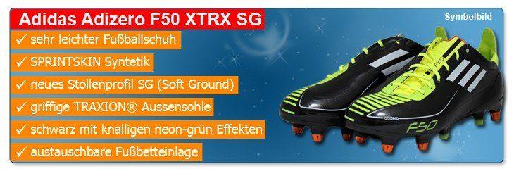 Adidas Adizero F50 XTRX SG Fussballschuhe