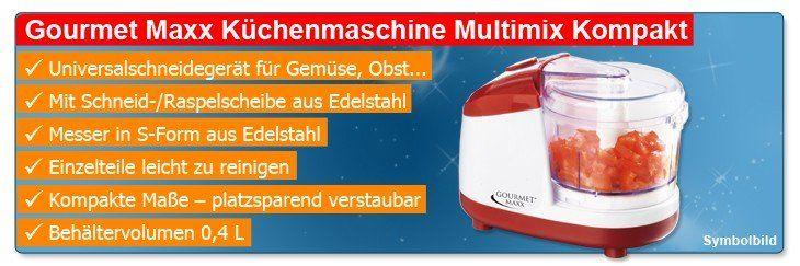 gourmet maxx k chenmaschine multimix kompakt reibe mixer zerkleinerer 250 watt. Black Bedroom Furniture Sets. Home Design Ideas