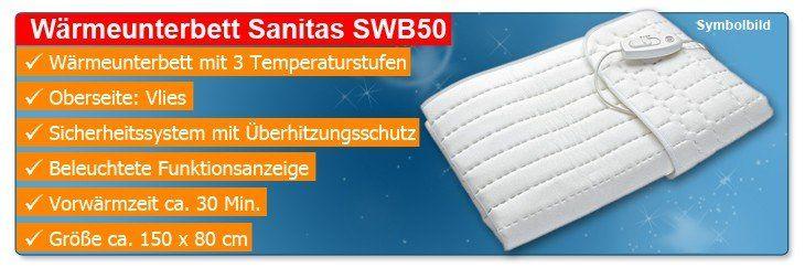 Wärmeunterbett Sanitas SWB50