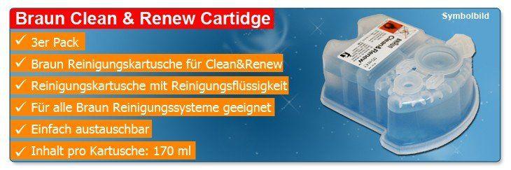 Braun Clean&Renew Reinigungskartusche