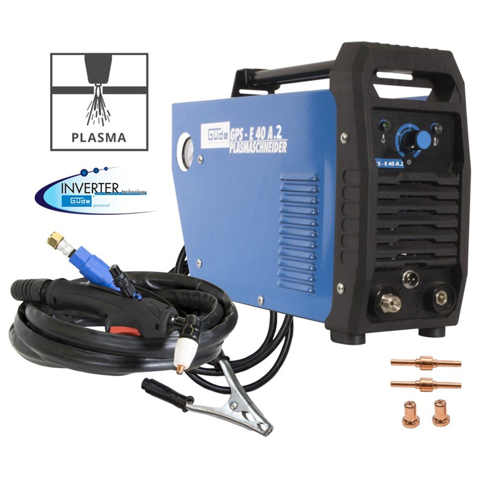 Güde Plasmaschneider Plasma Cutter Pilotzündung Schneiden bis 12mm GPS-E 40 A.2