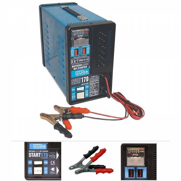 Güde Batterielader Starthilfe Start 170