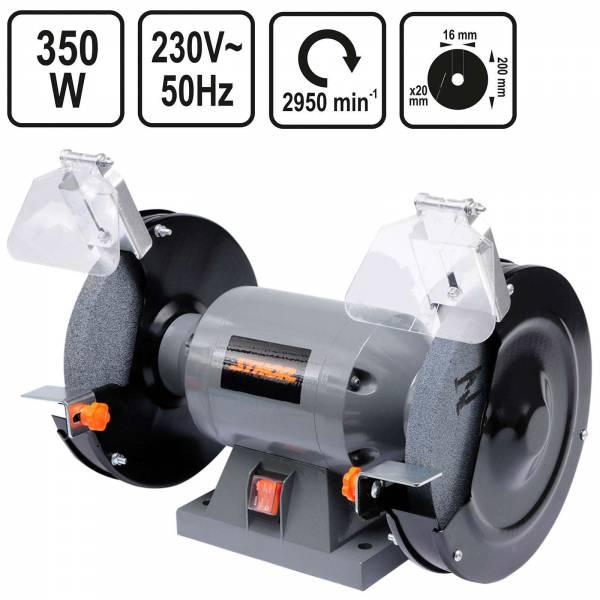 Sthor Doppelschleifmaschine 200mm 350 Watt
