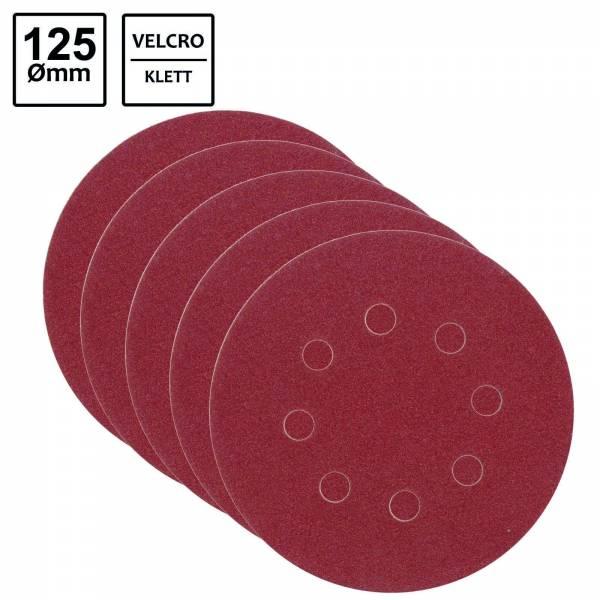 Fiberschleifscheibe 125mm P150 5er Set