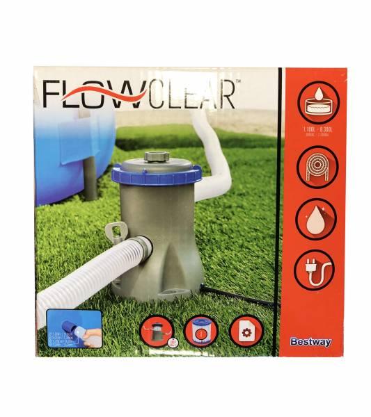 Bestway Filterpumpe Flowclear 1249 L/h 25 Watt 58381