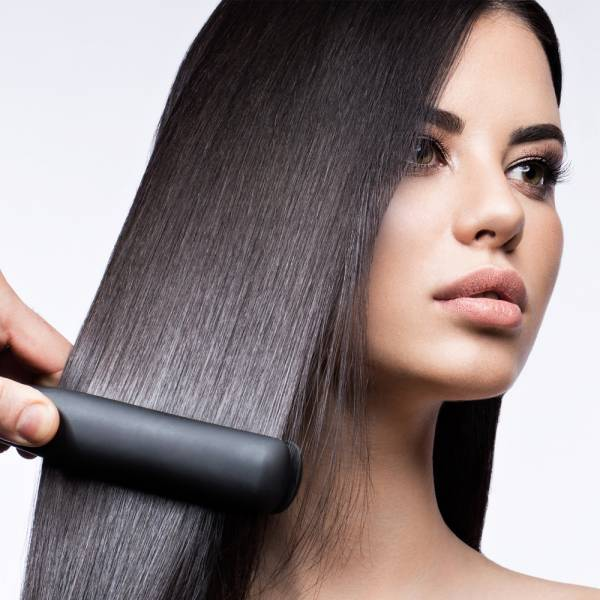 Grafner® Keramik Glätteisen mit Kontrollleuchte Glätter Haarglätter Haarstyler