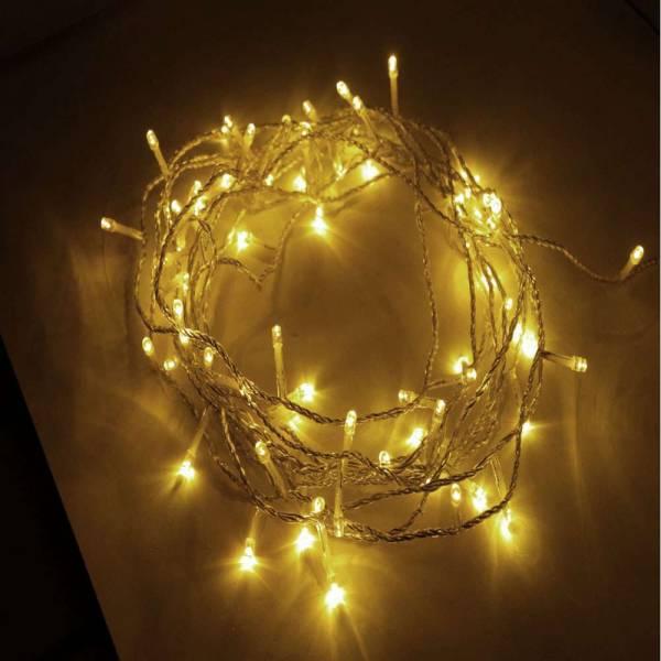 LED Lichterkette 240 LEDs 21m warm weiß, In- & Outdoor