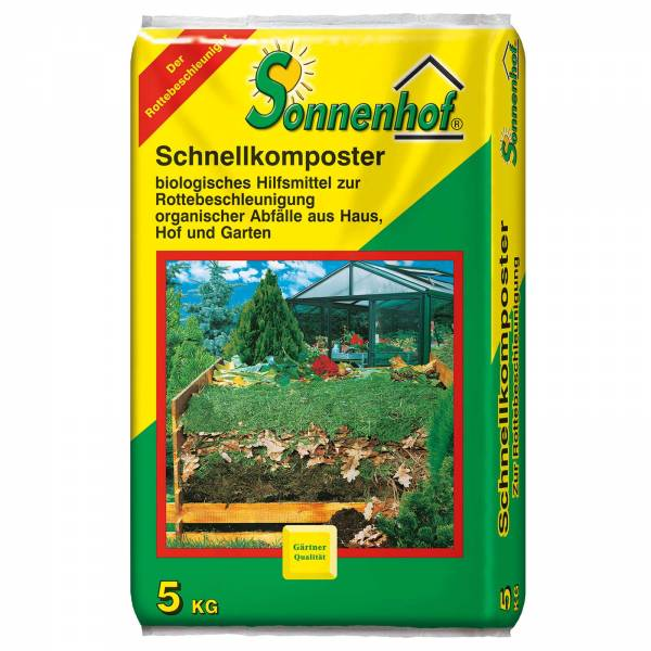 Sonnenhof Schnellkomposter 5 kg Beutel