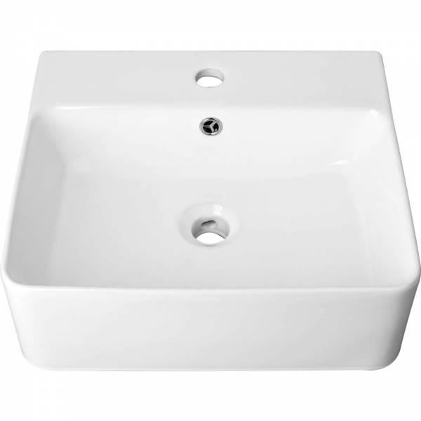 Fala Aufsatzwaschbecken eckig | 460 x 420 x 155 mm
