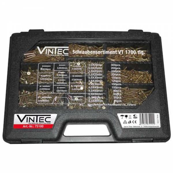 Vintec Schraubensortiment VT 1700 tlg.