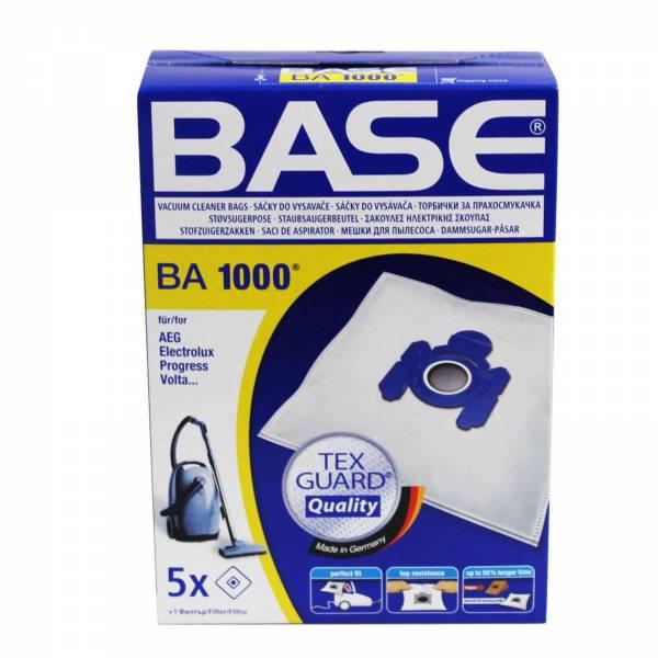Base Staubsaugerbeutel BA 1000 passend für AEG, Electrolux, Privileg, Progress, Volta, Zanussi