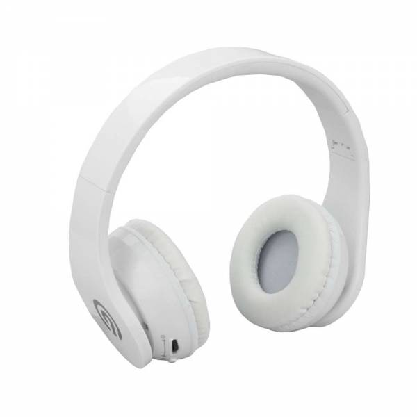 NINETEC Stereo9 Bluetooth Kopfhörer in Weiss