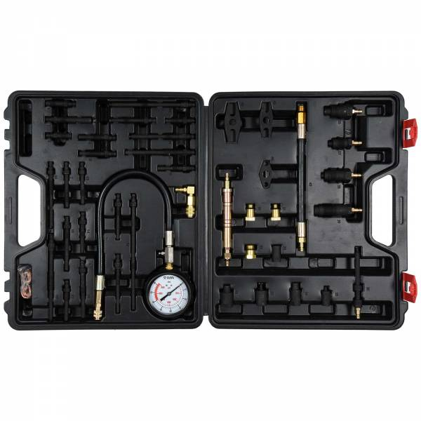 YATO Profi Kompressionstester Satz   Benzin- und Diesel   50 tlg.   im Koffer   YT-73012