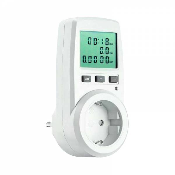 Stromkosten & Energiekosten Messgerät mit LCD Display