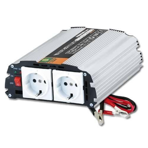 Spannungswandler 600 / 1200 Watt 12V Inverter Konverter 230V