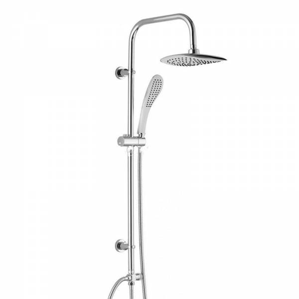 Grafner® Duschgarnitur mit Duschkopf und Handbrause Duschsäule R360