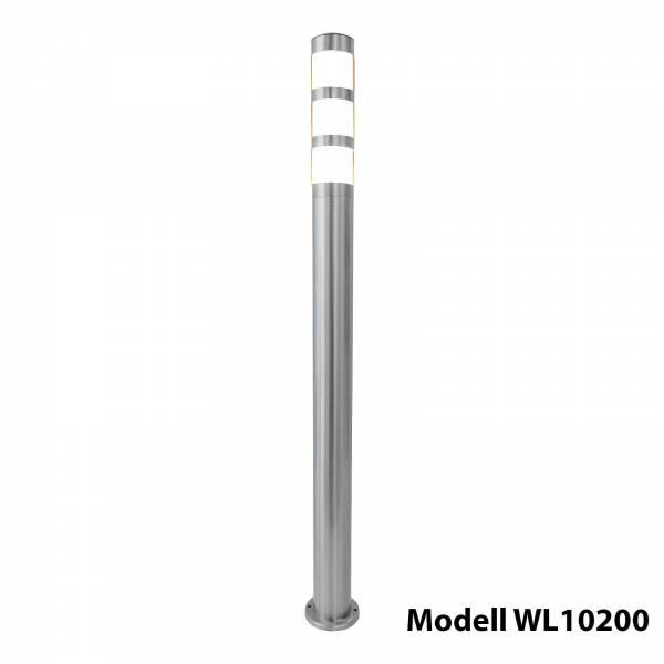 Grafner Edelstahl Wegleuchte 137S11 Gartenlampe 110 cm