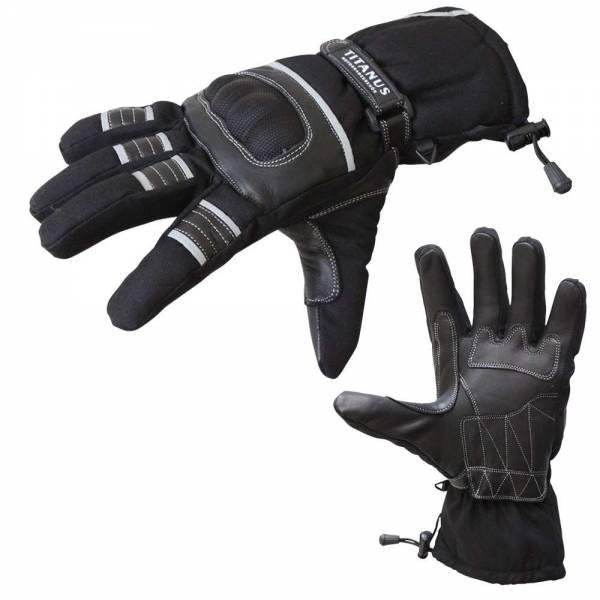 Motorradhandschuhe mit Knöchel-Protektoren in der Größe XL
