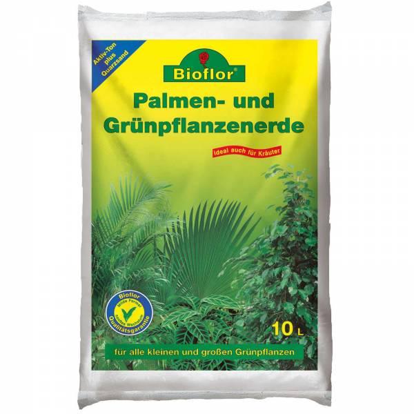 Bioflor Palmen-/Grünpflanzenerde 10 Liter Beutel