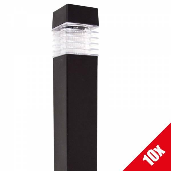 10x Grafner® Solar LED Gartenleuchte Solarlampe Solar Wegleuchte