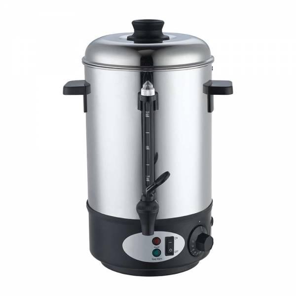 Edelstahl Heisswasserbehälter 8 Liter 1800 Watt Heißgetränkeautomat Glühweinkocher