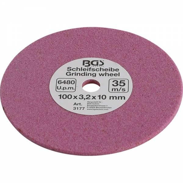 BGS 3177 Schleifscheibe | für Art. 3180 | 100 x 3,2 x 10 mm