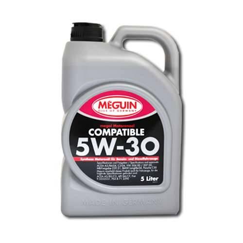5 Liter Meguin megol Motorenöl Compatible SAE 5W-30