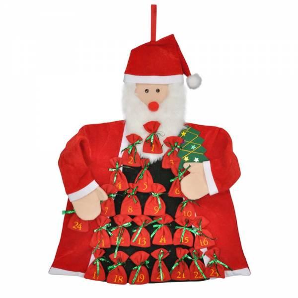 """Adventskalender """"Weihnachtsmann"""" zum Selbstbefüllen"""