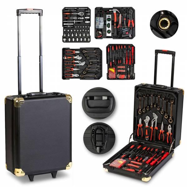 Grafner® Werkzeugkoffer 599 teilig Ring Ratschen WK10867