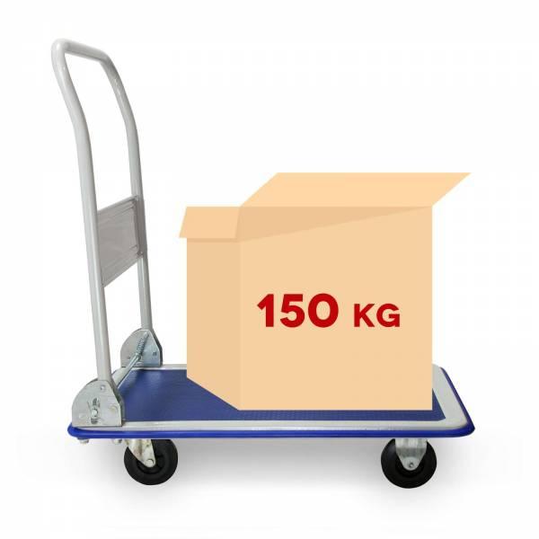 Grafner® Plattformwagen Tragkraft 150kg Transportwagen Lagerwagen Transportkarre in Premium Qualität