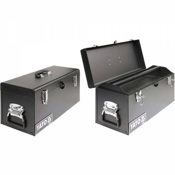 YATO Profi Werkzeugkasten YT-0886 Werkzeugkoffer aus Metall