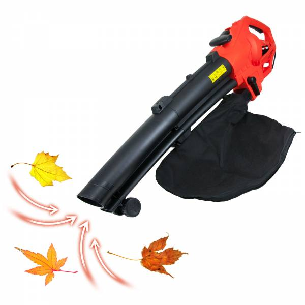 Grafner® 3in1 Laubsauger 3500 Watt Saug-, Blas- und Häckselfunktion Laubbläser